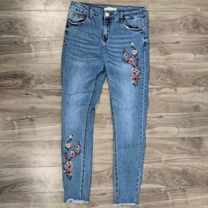 Streetwear Society High Rise Skinny Jeans Sz 9